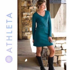 Athleta | Teal Celebration Dress Style 880253